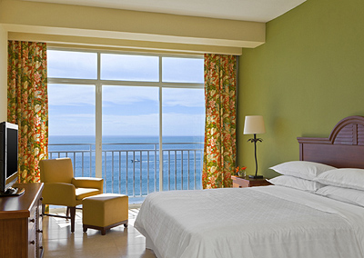 Deluxe Ocean View One Bedroom Suite